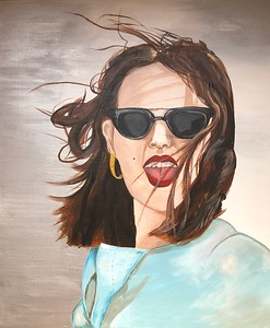 """Audacity"" (acrylic) by Kate Onishchenko"