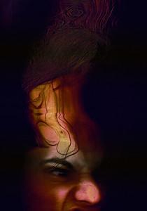 """Loosing it"" (scanography) by Anastasia Chunina"