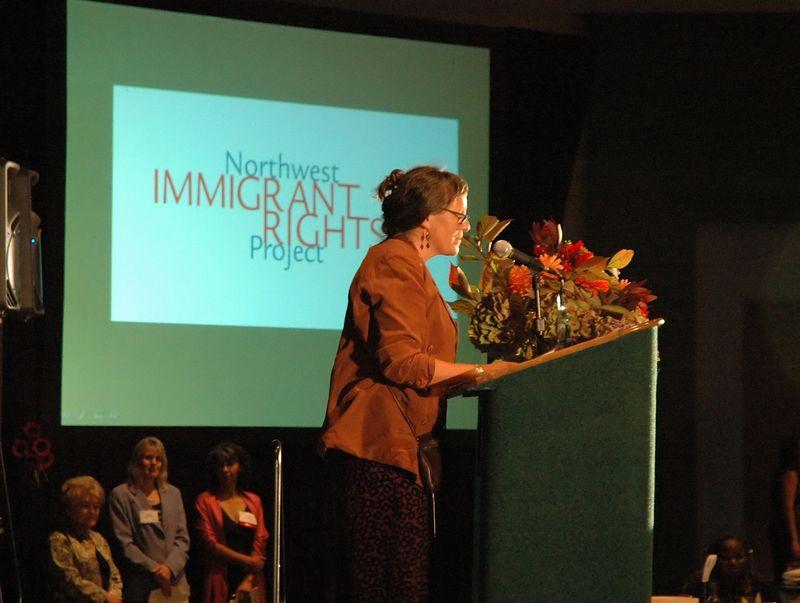 Gillian Dutton speaks
