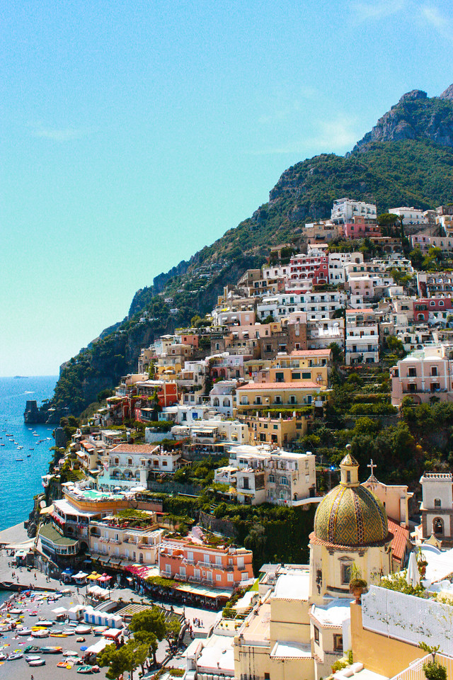 The Town of Positano- Amalfi Coast, Italy