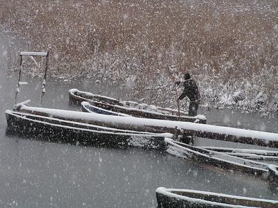 Fisherman in Lesser Prespa