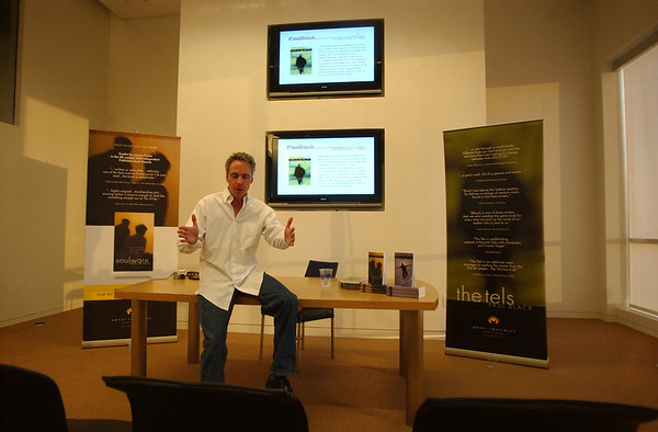 Paul Black book signing 2009