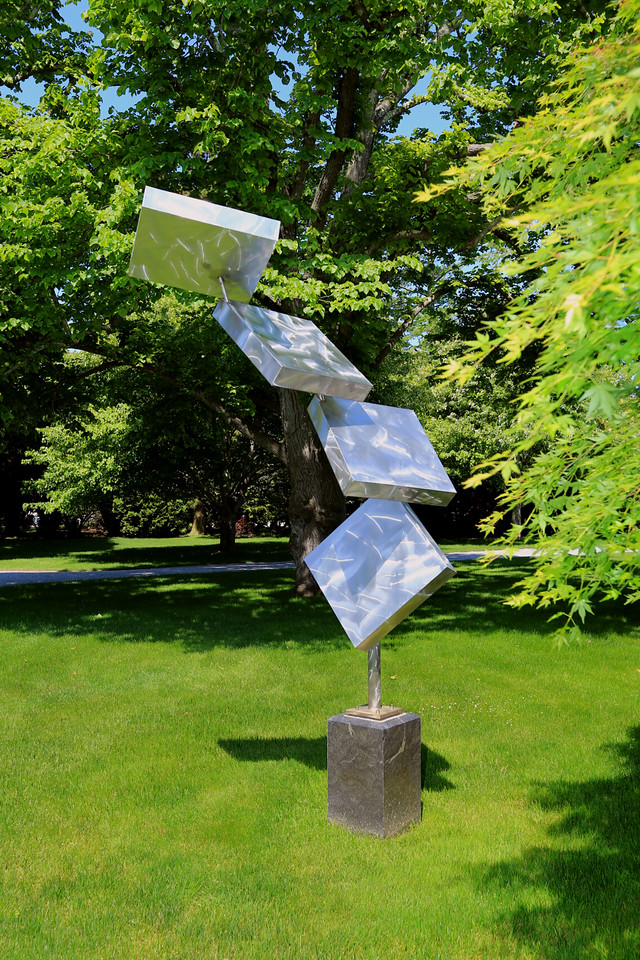 George Rickey sculpture, Bridgehampton (C) 2013