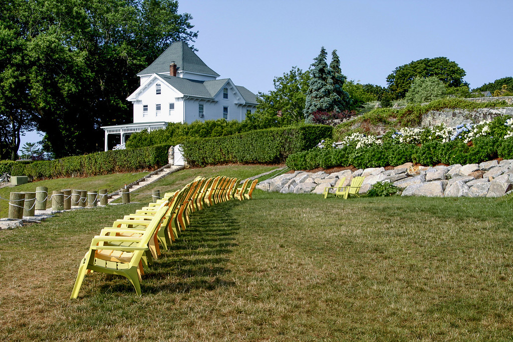 Row of Chairs, Noank, CT (c)2014