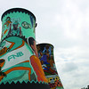 Soweto Colling Tower World Cup Grafitti