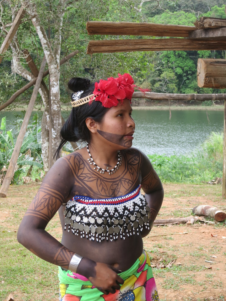 Embera Indian Woman, Panama (C) 2013