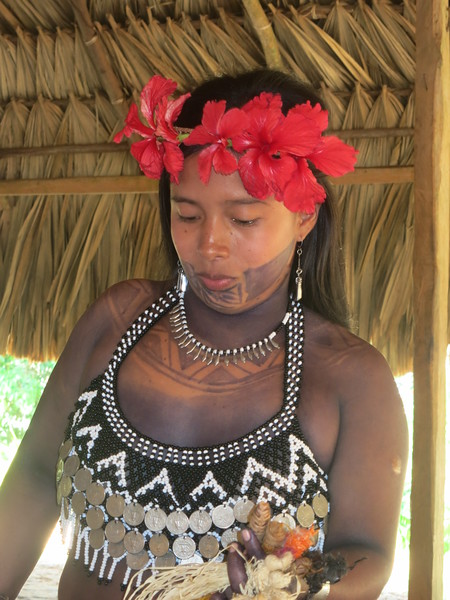 Embera Indian Woman, Panama (c)2013