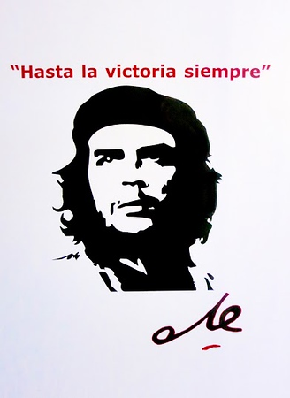 Che poster, Image edited by Jose Figueroa, Havana (c)2015