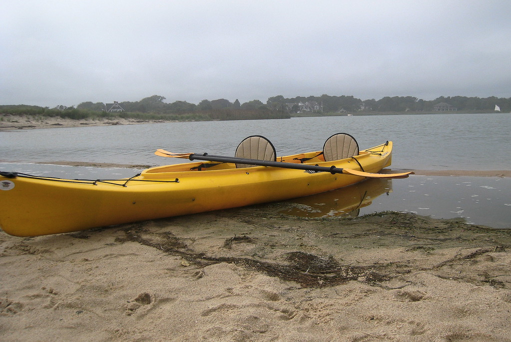 Kayak, Georgica Pond, LI (c)2010