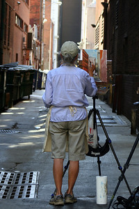 """The Alley Painter"""