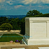 Flowers, hedgerows and promenades encircle the Tomb of the Unknown Soldier within Arlington National Cemetery (USA VA Arlington)