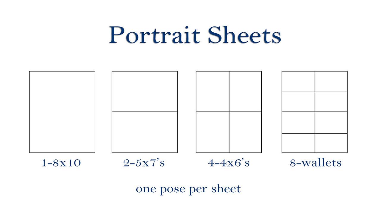 Portrait Sheets