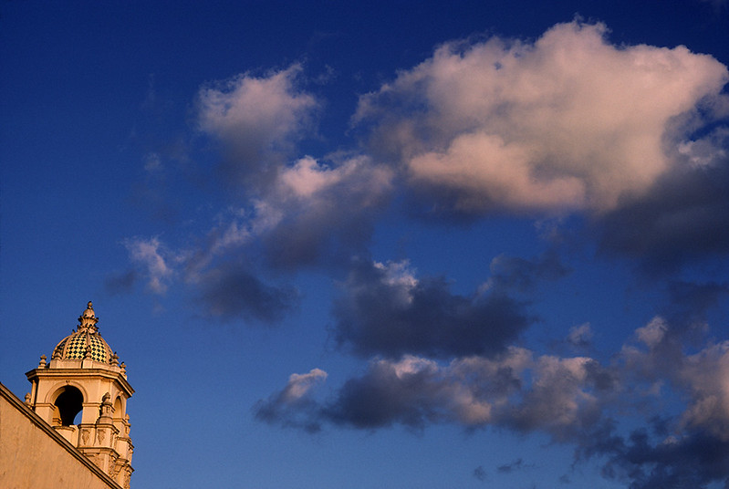 Clouds and Building - Balboa Park, San Diego