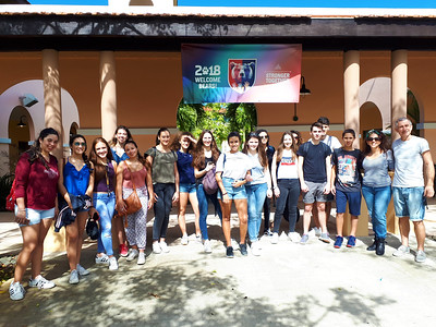 Humanitarian and Cultural Exchange with French Students