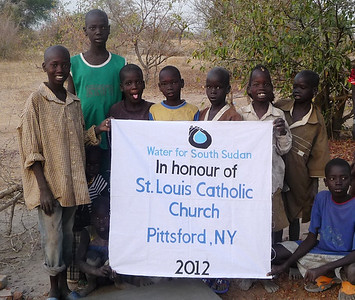 We are so impressed that Bol Thiik Riiny and his cousin Mou Riiny were able to organize the drilling of the well for for Thiou Freedom School. Empowering those who came as the Lost Boys of Sudan to give back to their homeland is a goal we love to meet.