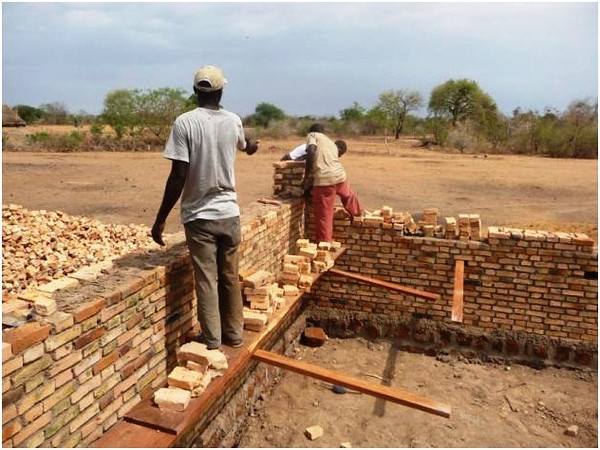 We employ local South Sudanese builders, trained from prior work and now running their own business!