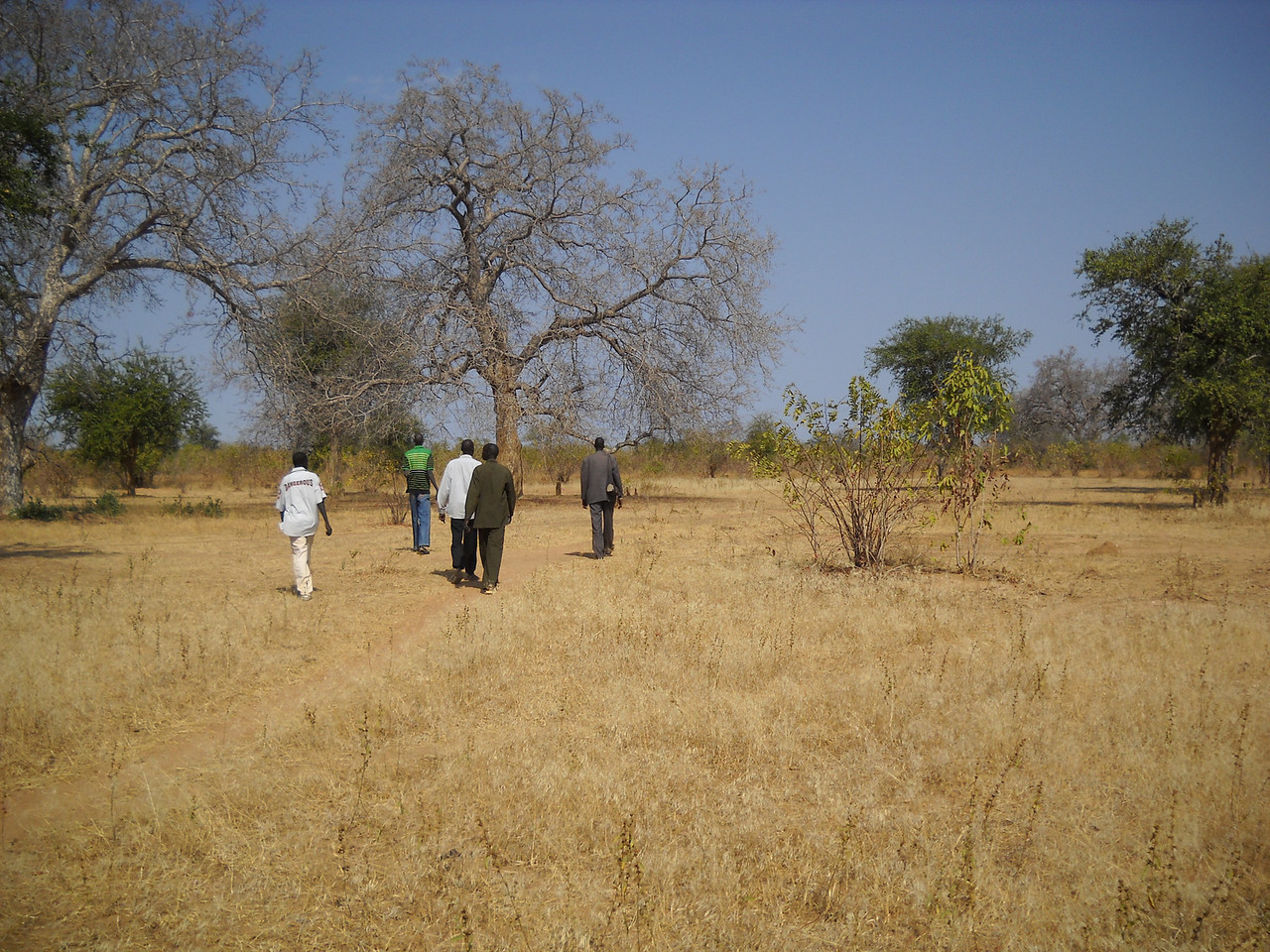 The site where the Wunlang Multi-purpose Community Center will be located is in the village of Rhum Athoi, Wunlang Payam, Aweil East County.
