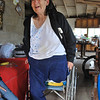 The IMAHelps prosthetics team fitted Hortencia Ruiz Macias of El Descanso, Mexico with a leg prosthesis.