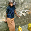 One of the beneficiaries of Lifewater's safe water, sanitation and hygiene projects is nine-year-old Mako Burka, a third grader who lives in Nensebo Hurobaro Kebele in Gare Kotohashawa, Ethiopia. Her she is at a safe water well that was recently installed by Lifewater. Lifewater helps local communities organize water committees that collect monthly fees for ongoing well maintenance and supervision. This way, the wells that Lifewater installs are properly maintained on an ongoing basis for the benefit of the communities they serve.