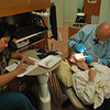 Dr. Melyvn Glick, dental director of the We Care Dental Center in Rancho Mirage, treating a patient.