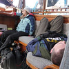 Our support team do not find their sea legs and are indeed very ill...