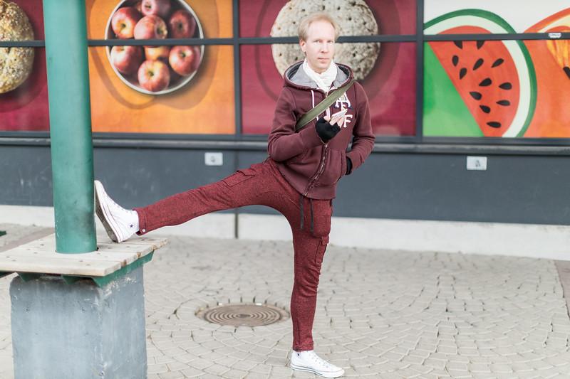"""""""Tanssin paljon ja tuskastelen just sen kanssa, ettei ole paljon treenejä. Pitää ottaa silloin kaikki kun pääse ulos tekemään jotakin ja nostaa vähän jalkaa!"""""""