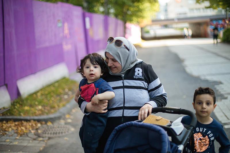 –Syyria on minun kotimaani. Lapset ensimmäisenä, täällä on parempi.