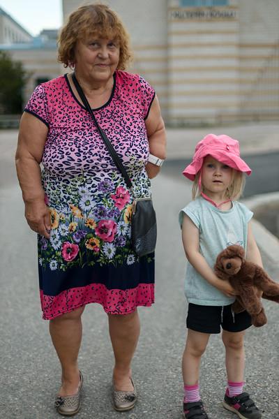 """""""Tänään oli hyvä päivä mummon kanssa."""""""
