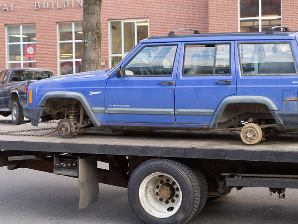 """How every """"Sport"""" package Jeep dreams their funeral procession will be."""