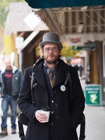 I've always admired this gentleman's style.