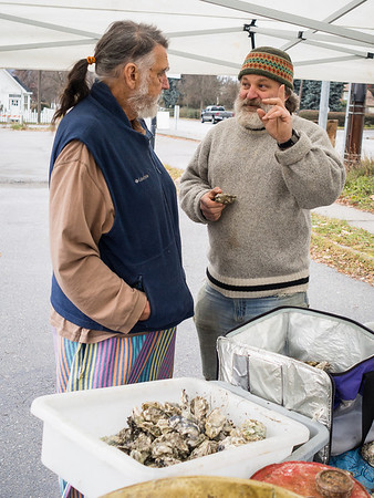 """""""Oysters lead to discussion, contemplation and a whole lot more."""""""