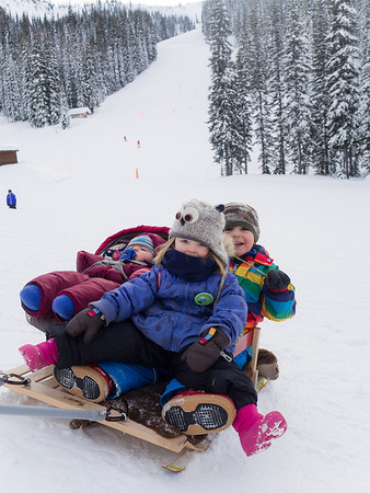 Sharing is caring.<br /> <br /> Or...<br /> <br /> Kootenay moms are strong.