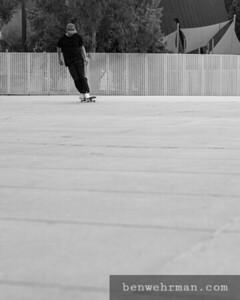 Skateboarder on Concrete