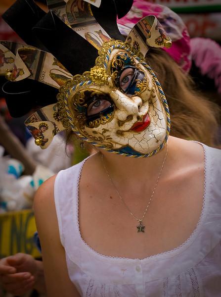 Mask of celebration