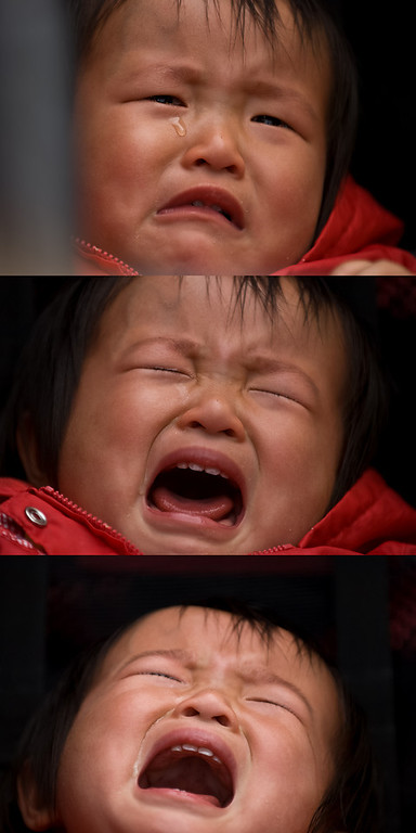 3 stages of crying