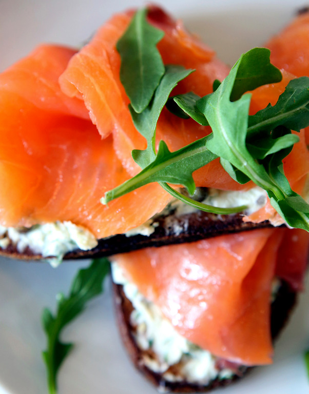 . Lox Toast at Humble Sea satiates the senses with delectable flavors, aromas and colors. (Shmuel Thaler -- Santa Cruz Sentinel)