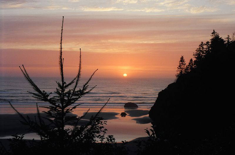 Day's End, Moonstone Beach, Trinidad, California