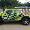 Hummer Wrap, H2, Dallas, TX