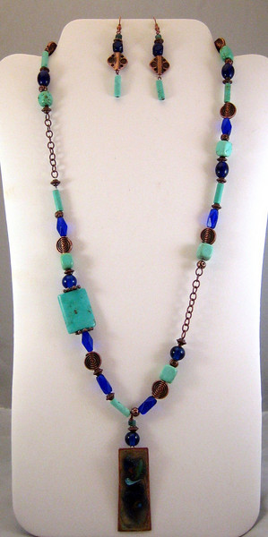 BLUE COPPER SET: $60