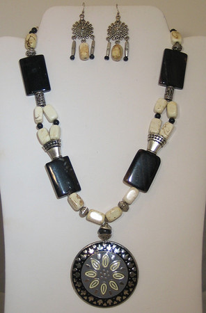 EBONY & IVORY SET: $80