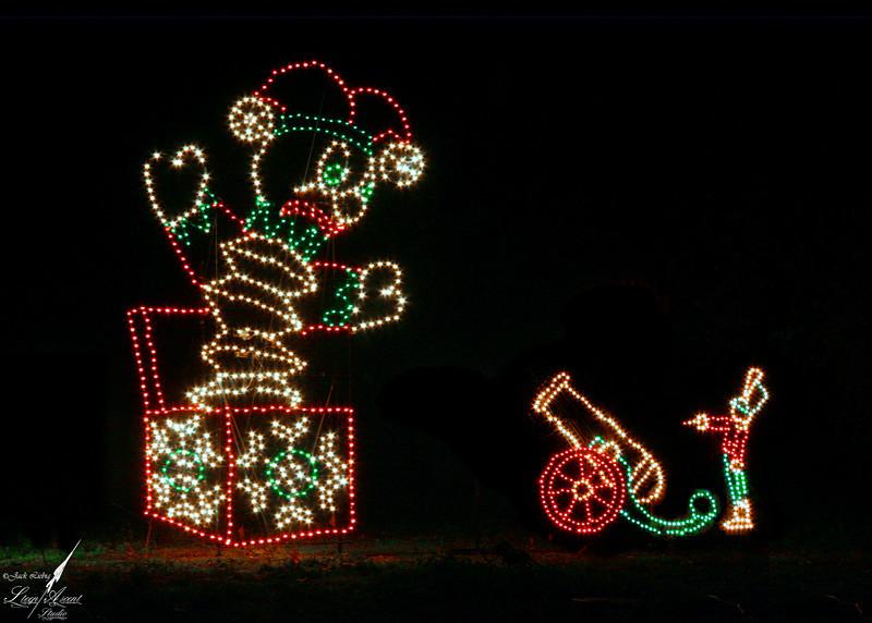 Creepy Christmas Display