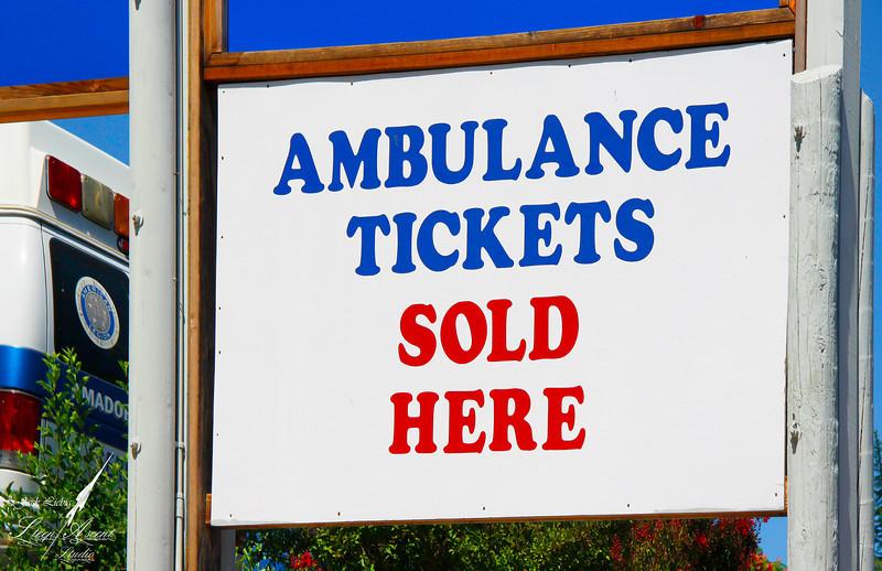 Ambulance Tickets Won't Last