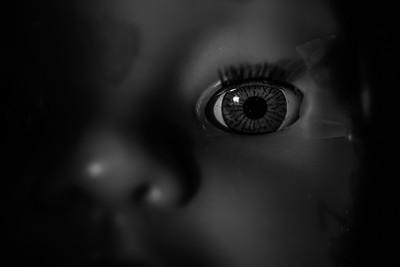 The eye in the dark