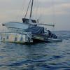 Catamarans have big dinghies.