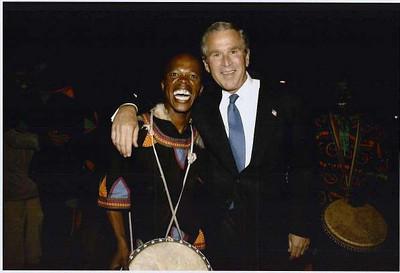 bush black guy