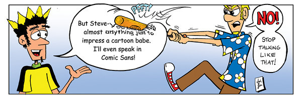 Don't Panic! by Andy Moore<br /> dontpaniccomic.com