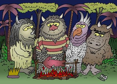 Wildlife Cartoons