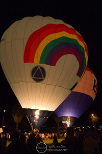 Balloon Glow Tucson AZ Sept 2010