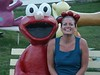 Cindy & Elmo - We saw this lawn ornament in Caseville Michigan and knew we had to stop to get a picture of one of our favorite childrens icons