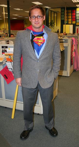 Clark Kent  - AKA - Superman